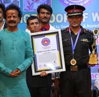 "Col Sunil Uniyal – High Range ""Honest Officer"""