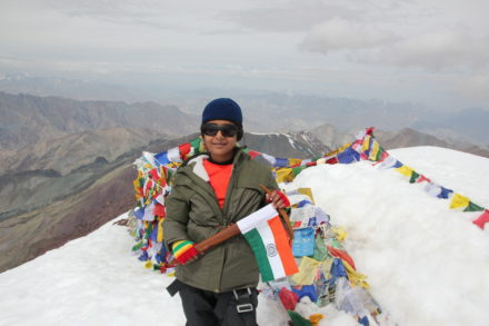 YOUNGEST IN THE WORLD TO SUMMIT MT. STOK KANGRI (6153M) & YOUNGEST GIRL IN THE WORLD TO CLIMB BEYOND 6000M