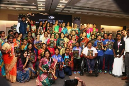 HONORED MOST NUMBER OF WOMEN FROM VARIOUS FIELDS