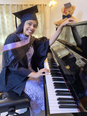 YOUNGEST FEMALE LTCL & ATCL CERTIFIED PIANIST OF INDIA