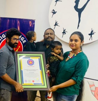 YOUNGEST KID TO DONATE HAIRS FOR CANCER PATIENTS